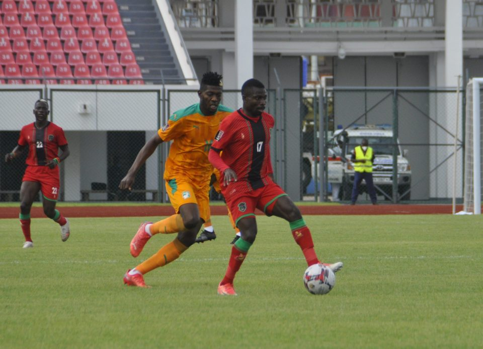 Flames out of WC qualifying race